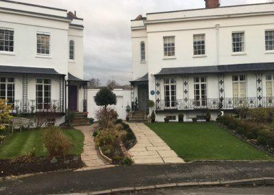 Houses on Lansdowne Circus
